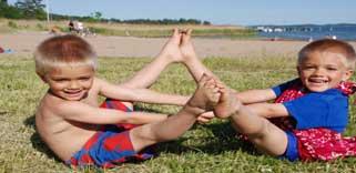 Medicinsk Barn Yoga